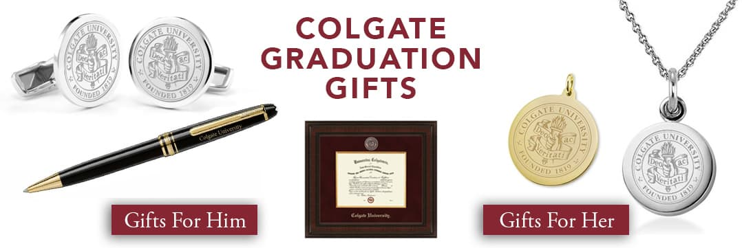 Colgate University Graduation Gifts for Her and for Him