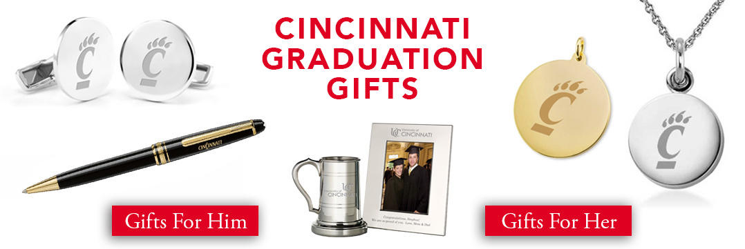 Cincinnati Graduation Gifts for Her and for Him