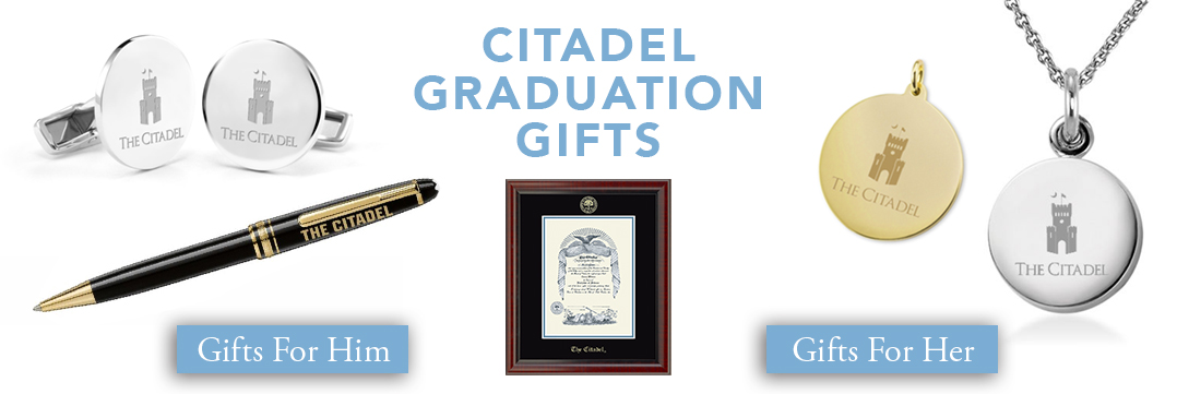 Citadel Graduation Gifts for Her and for Him