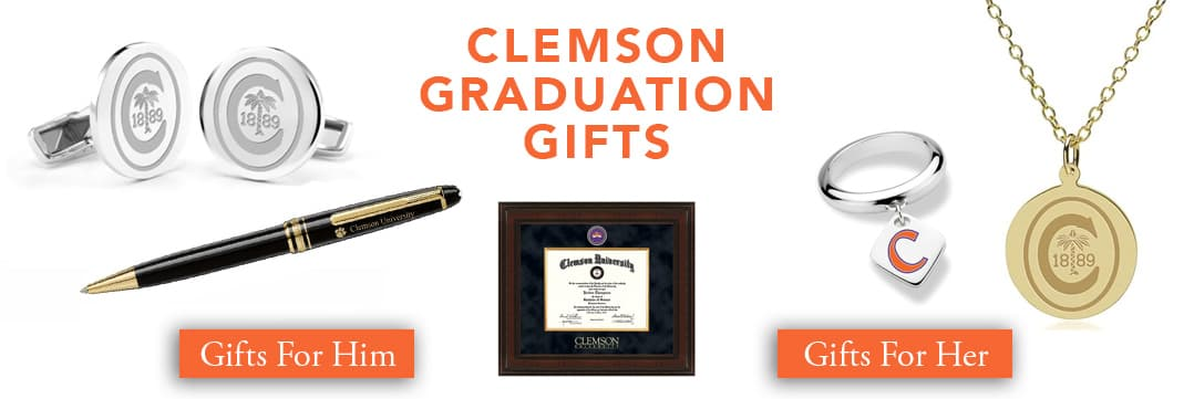 Clemson Graduation Gifts for Her and for Him