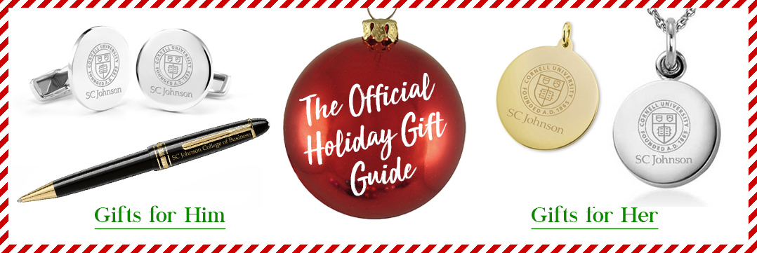 The Official Holiday Gift Guide for Cornell SC Johnson