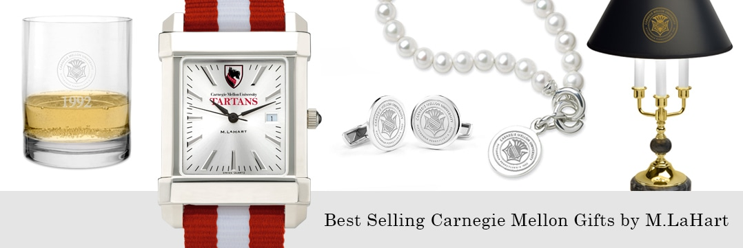 Best selling Carnegie Mellon University watches and fine gifts at M.LaHart