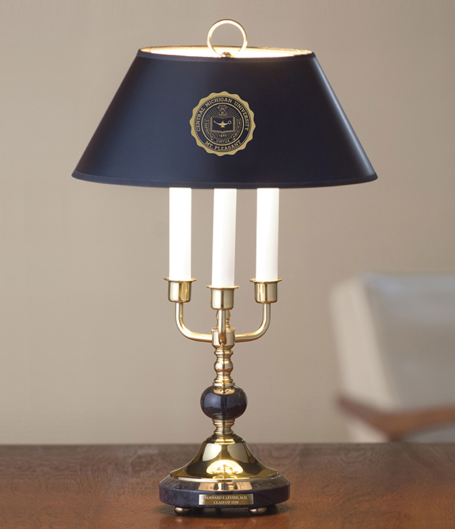 Central Michigan University Home Furnishings - Clocks, Lamps and more - Only at M.LaHart