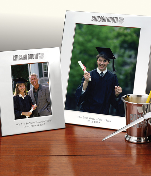 Chicago Booth Picture Frames and Desk Accessories - Chicago Booth Commemorative Cups, Frames, Desk Accessories and Letter Openers