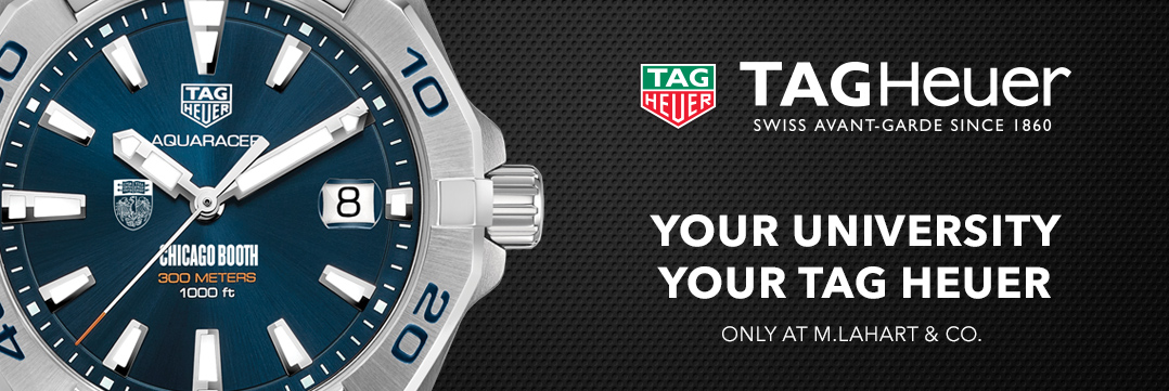 Chicago Booth TAG Heuer Watches - Only at M.LaHart