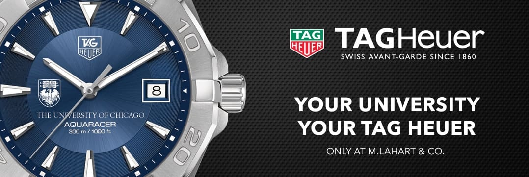 Chicago TAG Heuer. Your University, Your TAG Heuer