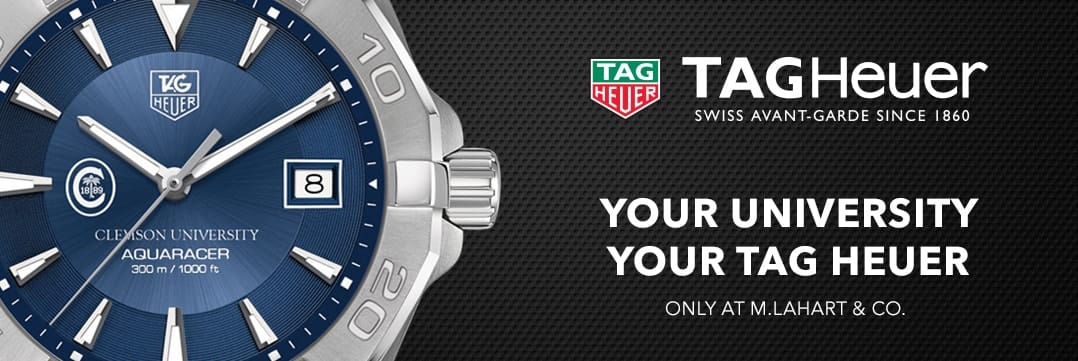 Clemson TAG Heuer. Your University, Your TAG Heuer