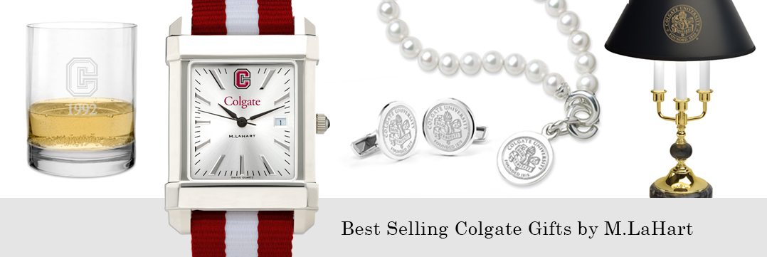 Best selling Colgate University watches and fine gifts at M.LaHart