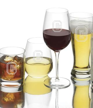 Colgate University - Glasses & Barware