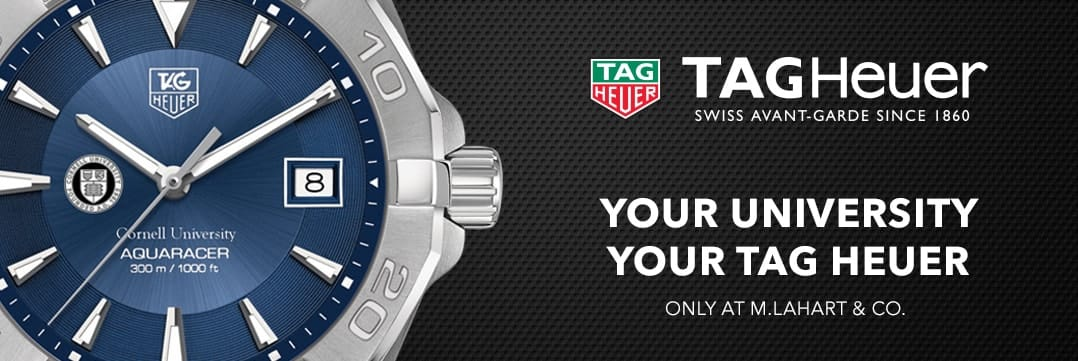 Cornell TAG Heuer. Your University, Your TAG Heuer
