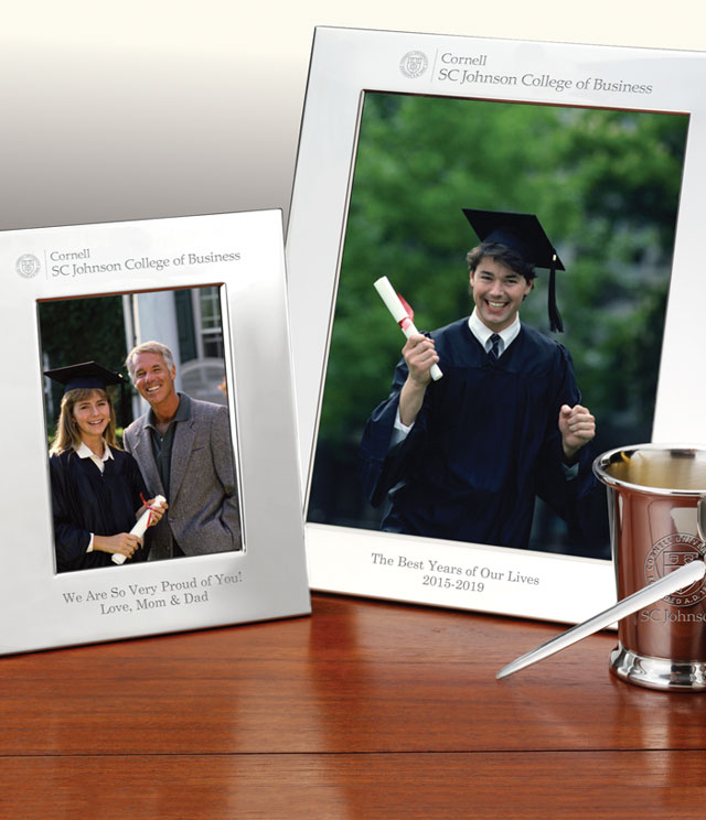 Cornell SC Johnson College Picture Frames and Desk Accessories - Cornell SC Johnson College Commemorative Cups, Frames, Desk Accessories and Letter Openers