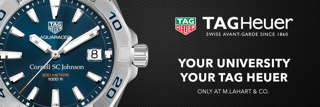 Cornell SC Johnson College TAG Heuer Watches - Only at M.LaHart