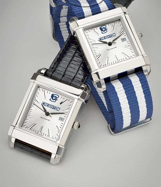 Creighton University Men's Watches. TAG Heuer, MOVADO, M.LaHart