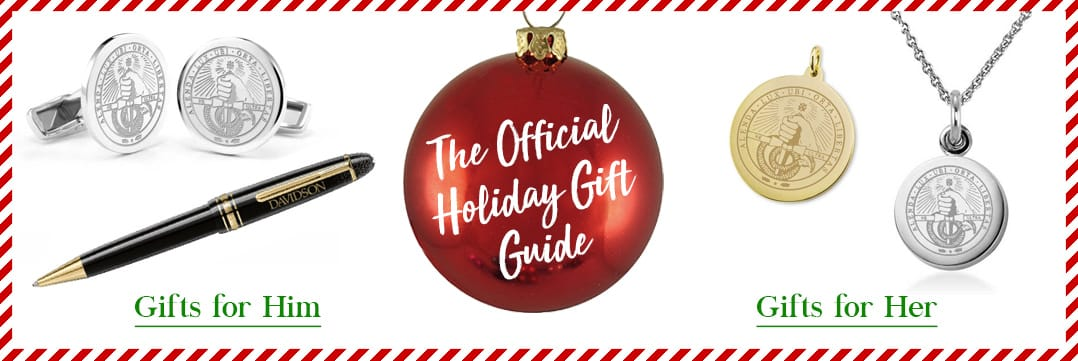 The Official Holiday Gift Guide for Davidson College