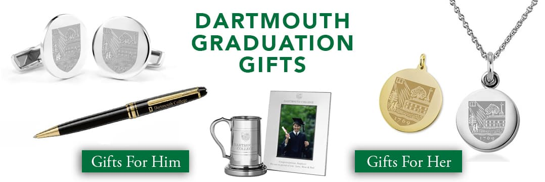 Dartmouth Graduation Gifts for Her and for Him
