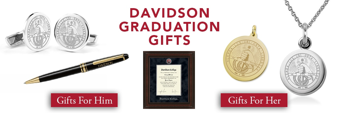 Davidson College Graduation Gifts for Her and for Him