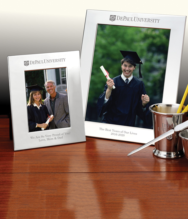 DePaul University Picture Frames and Desk Accessories - DePaul University Commemorative Cups, Frames, Desk Accessories and Letter Openers