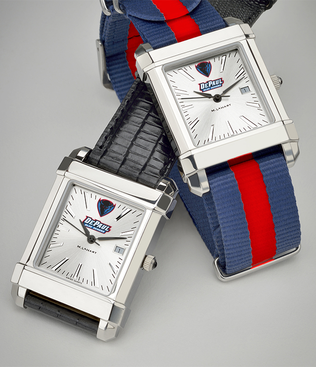 DePaul University Men's Watches. TAG Heuer, MOVADO, M.LaHart
