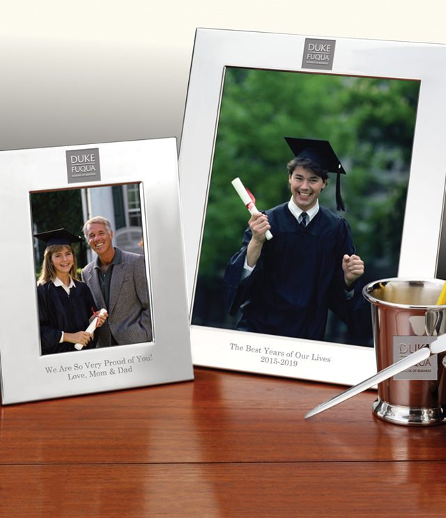 Duke Fuqua Picture Frames and Desk Accessories - Duke Fuqua Commemorative Cups, Frames, Desk Accessories and Letter Openers