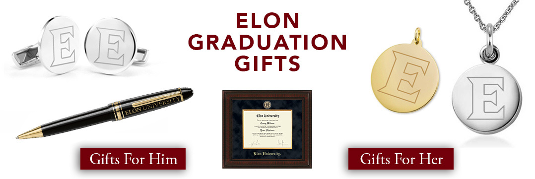 Elon University Graduation Gifts for Her and for Him
