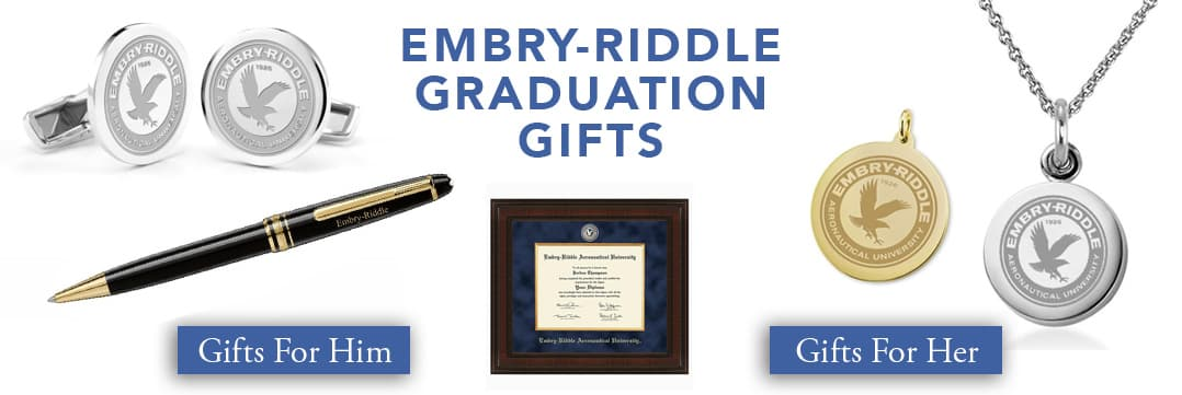 Embry-Riddle Graduation Gifts for Her and for Him