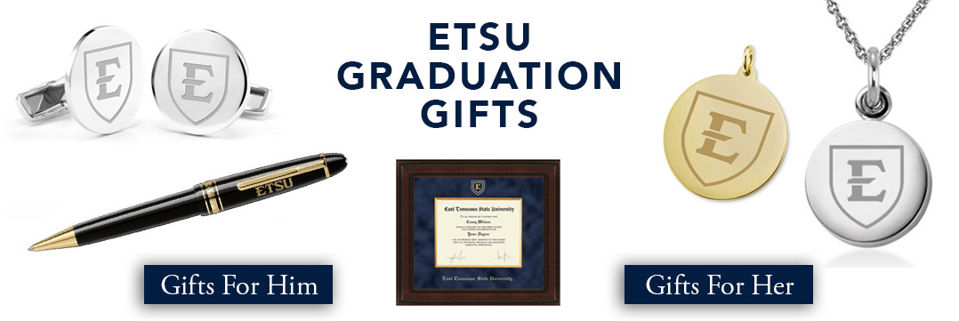 East Tennessee State Graduation Gifts for Her and for Him