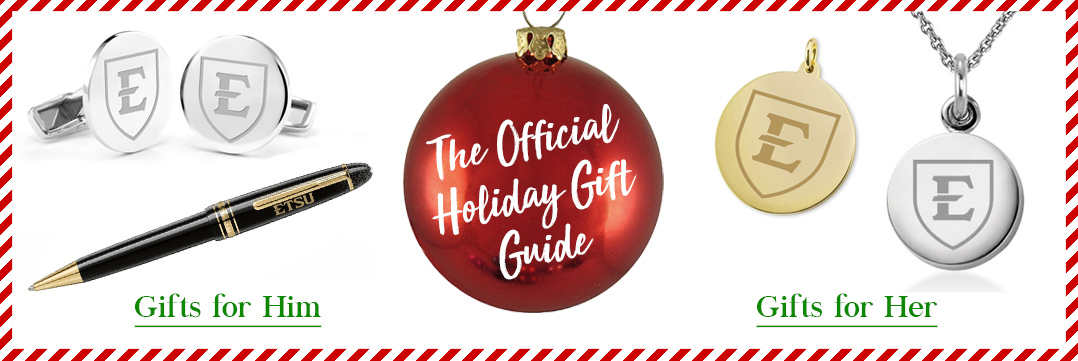 The Official Holiday Gift Guide for East Tennessee State University