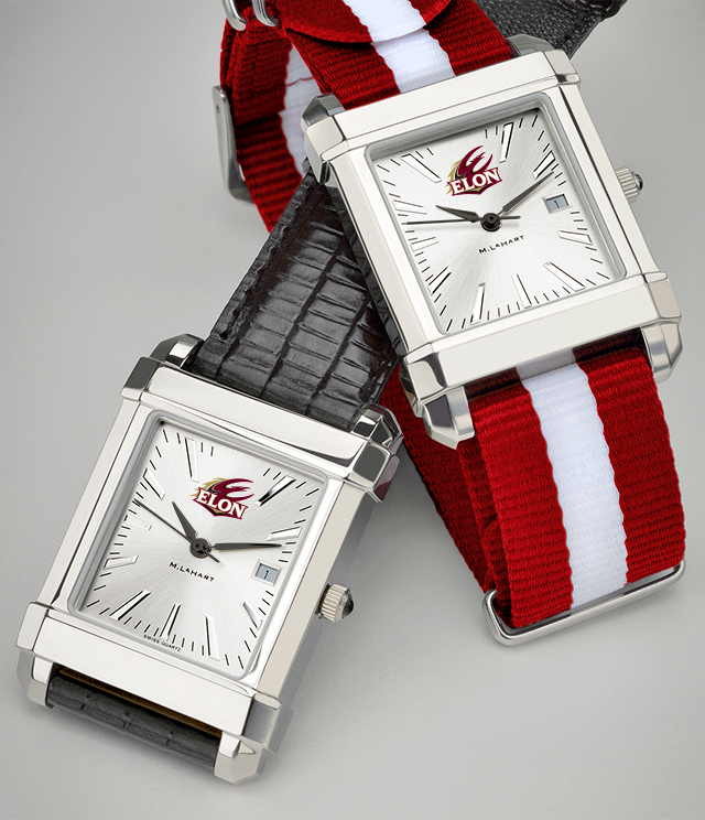 Elon University Men's Watches. TAG Heuer, MOVADO, M.LaHart
