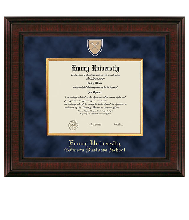 Emory Goizueta Picture Frames and Desk Accessories - Emory Goizueta Commemorative Cups, Frames, Desk Accessories and Letter Openers
