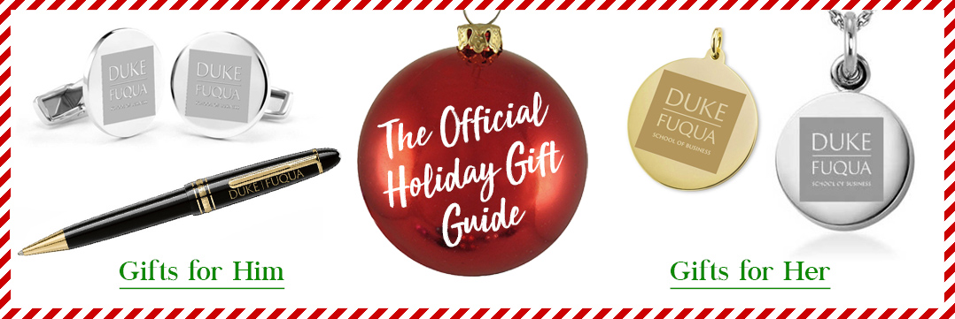 The Official Holiday Gift Guide for Duke Fuqua