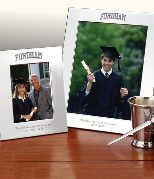 Fordham University Picture Frames and Desk Accessories - Fordham University Commemorative Cups, Frames, Desk Accessories and Letter Openers
