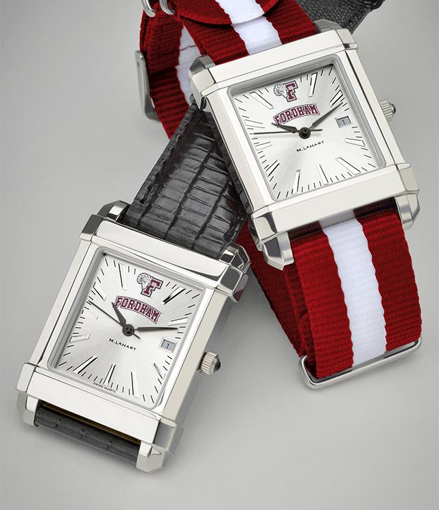 Fordham University Men's Watches. TAG Heuer, MOVADO, M.LaHart