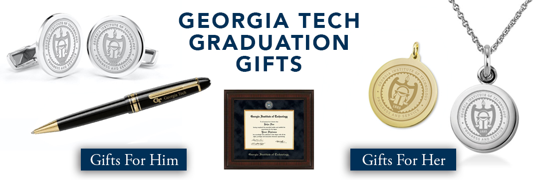Georgia Tech Graduation Gifts for Her and for Him