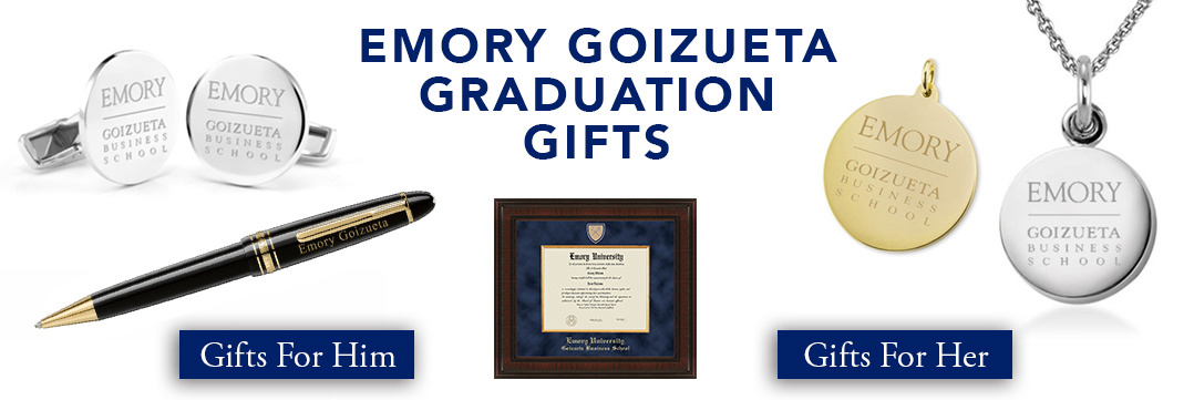 Emory Goizueta Graduation Gifts for Her and for Him