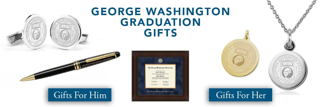 George Washington Graduation Gifts for Her and for Him