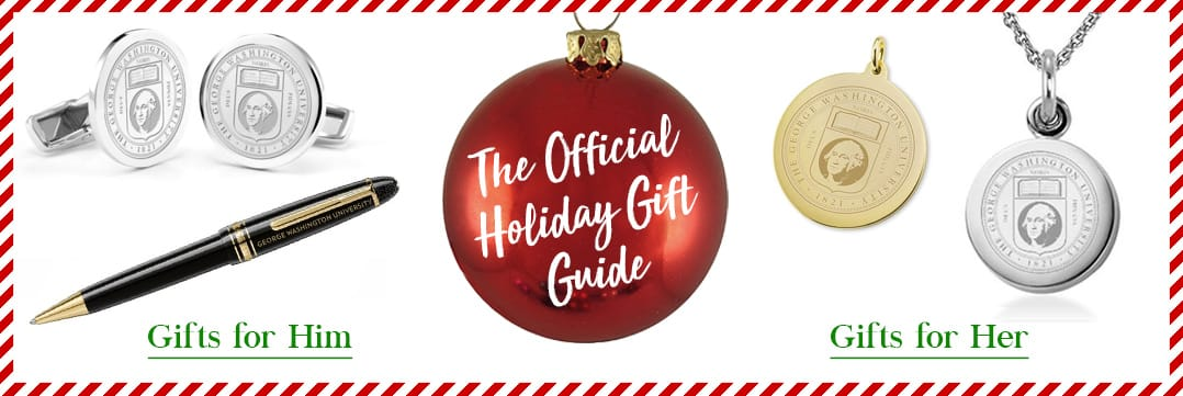 The Official Holiday Gift Guide for George Washington
