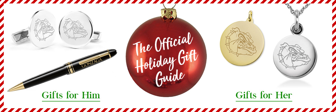The Official Holiday Gift Guide for Gonzaga