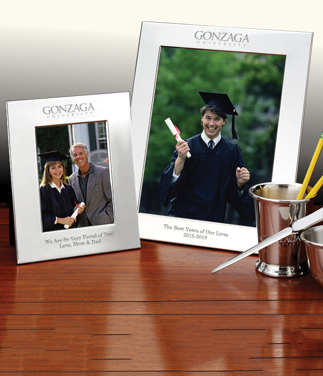 Gonzaga Picture Frames and Desk Accessories - Gonzaga Commemorative Cups, Frames, Desk Accessories and Letter Openers