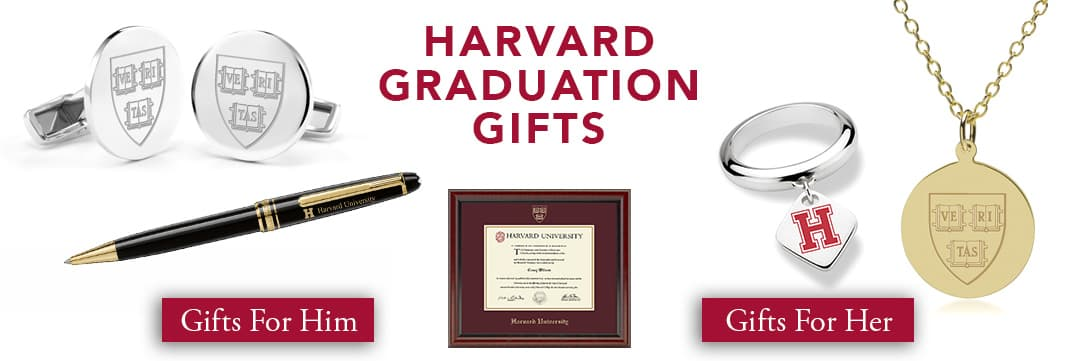 Harvard Graduation Gifts for Her and for Him