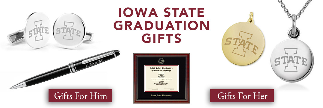 Iowa State Graduation Gifts for Her and for Him