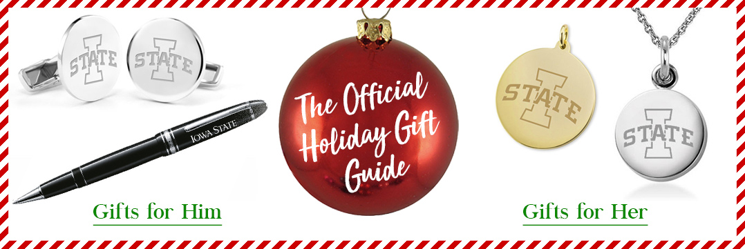 The Official Holiday Gift Guide for Iowa State University