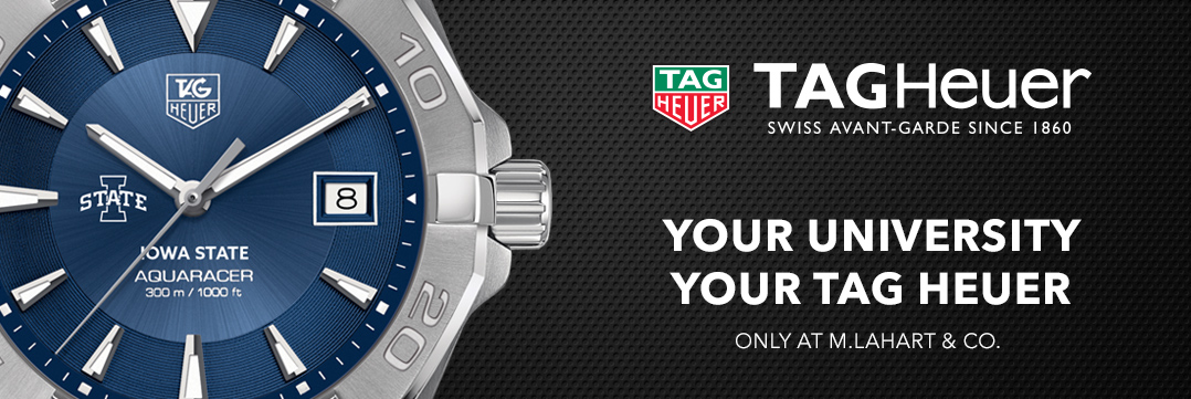 Iowa State TAG Heuer Watches - Only at M.LaHart