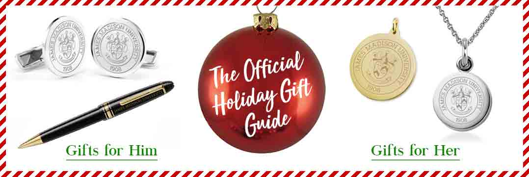 The Official Holiday Gift Guide for James Madison