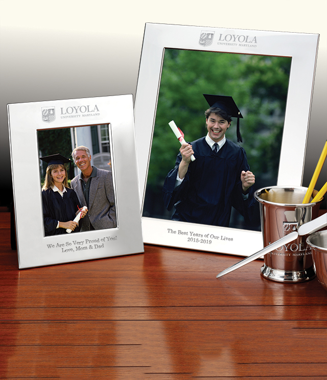 Loyola University Picture Frames and Desk Accessories - Loyola University Commemorative Cups, Frames, Desk Accessories and Letter Openers