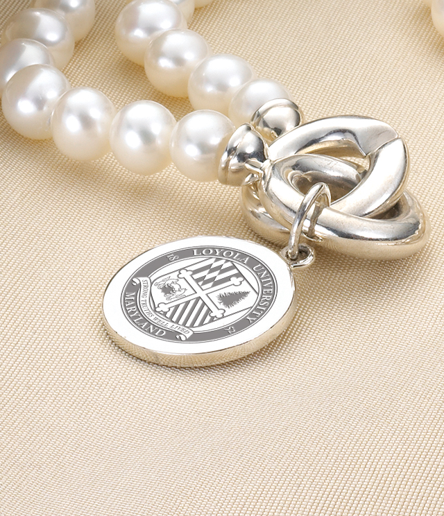 Loyola University Jewelry for Women - Sterling Silver Charms, Bracelets, Necklaces. Personalized Engraving.