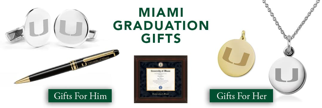 Miami Graduation Gifts for Her and for Him