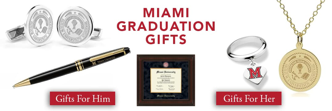 Miami University Graduation Gifts for Her and for Him