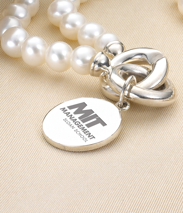 MIT Sloan Jewelry for Women - Sterling Silver Charms, Bracelets, Necklaces. Personalized Engraving.