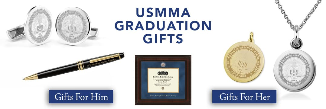 Merchant Marine Academy Graduation Gifts for Her and for Him