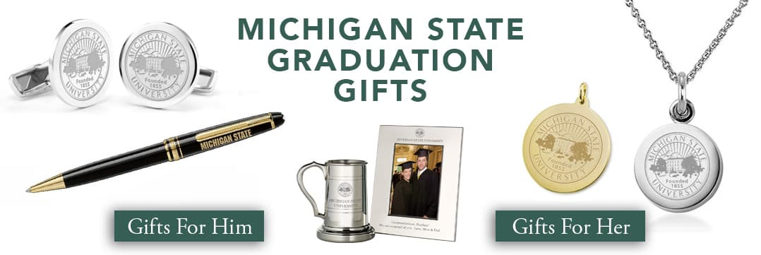 Michigan State Graduation Gifts for Her and for Him